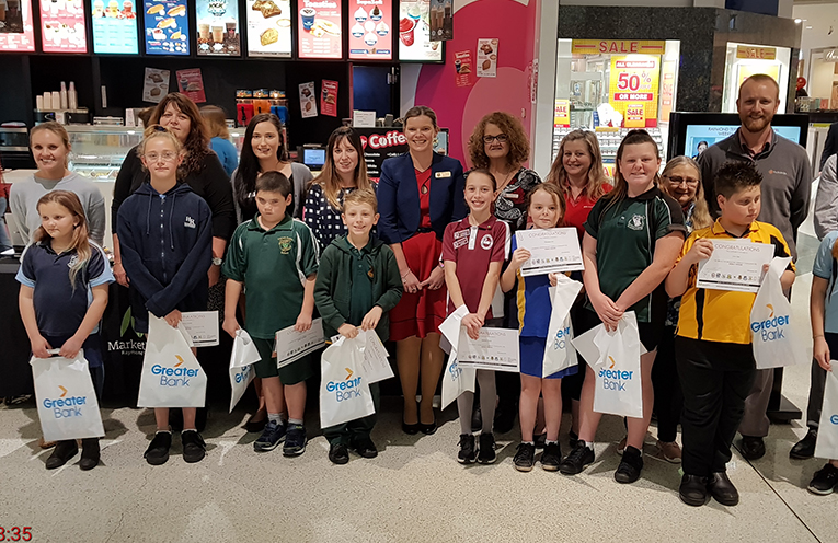 Allison Thompson Principal of Medowie Public School Principal presented this week's Positive Behaviour for Learning (PBL) awards.