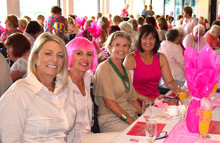 The ladies at the In The Pink Breakfast last year.