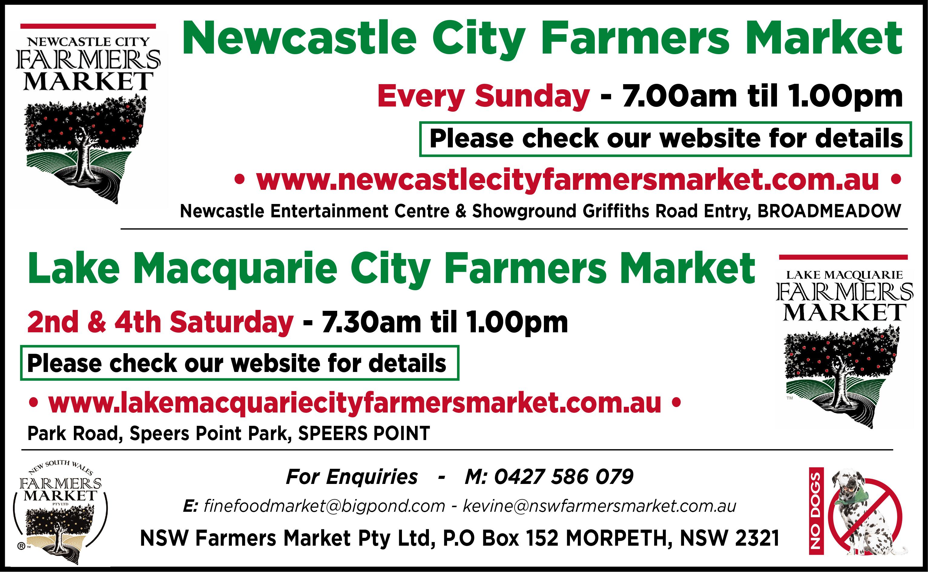 Newcastle City Farmers Markets