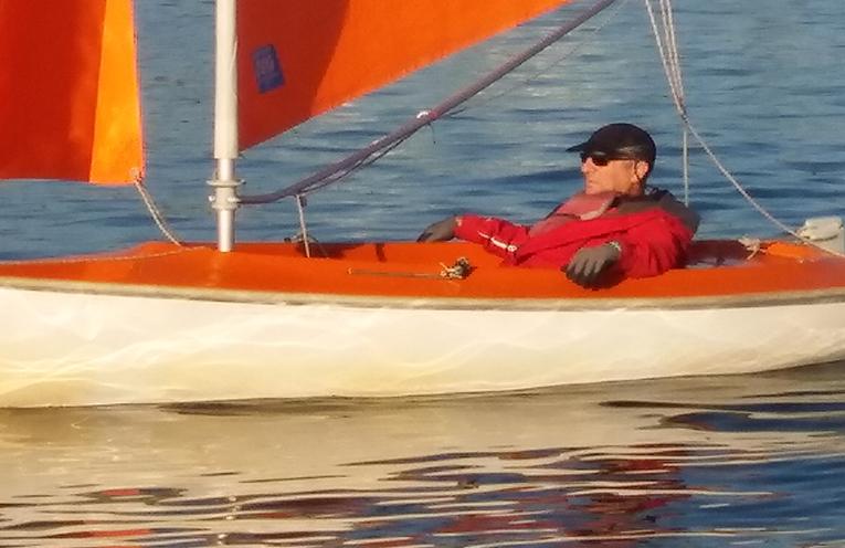 Jason Elwes, sight set on Paralympic Sailing in 2024.