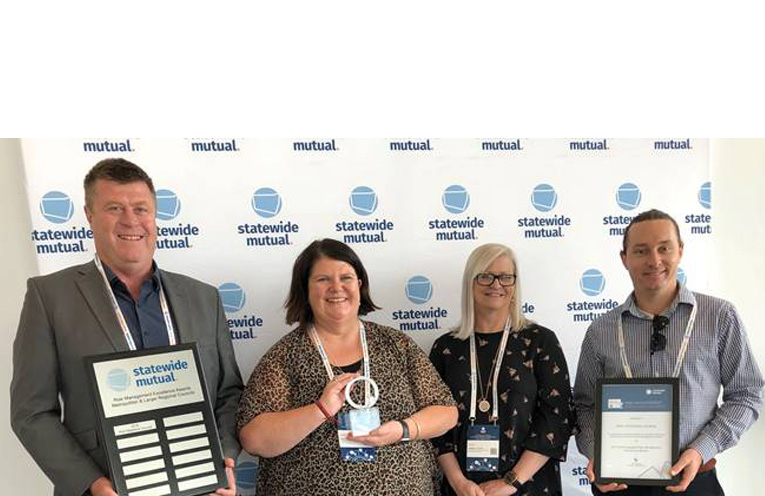 Greg Kable - Facilities & Services Group Manager, Michelle Gilliver-Smith -  Organisation Development Section Manager, Carmel Foster – Corporate Services Group Manager, Chris Connors – Risk Management Coordinator.