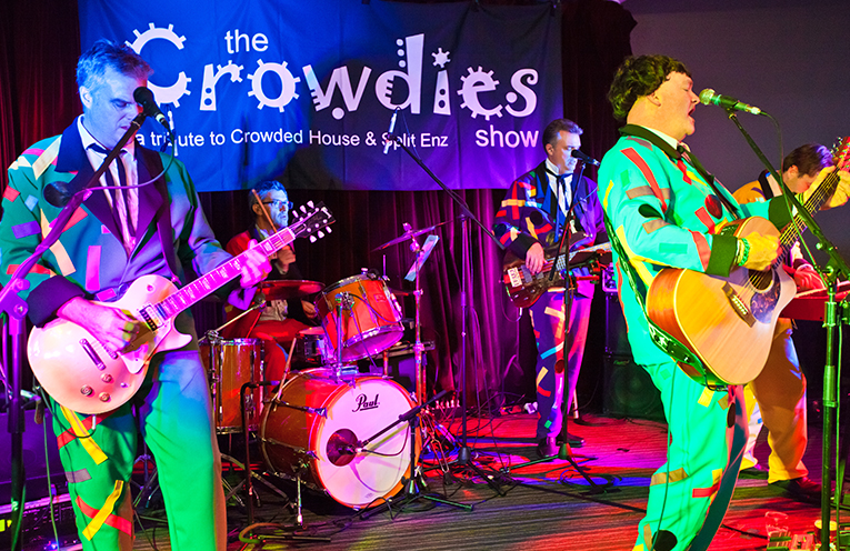 The Crowdies are set to impress at the Myall River Festival this weekend, on the outdoor stage at the Tea Gardens Hotel.