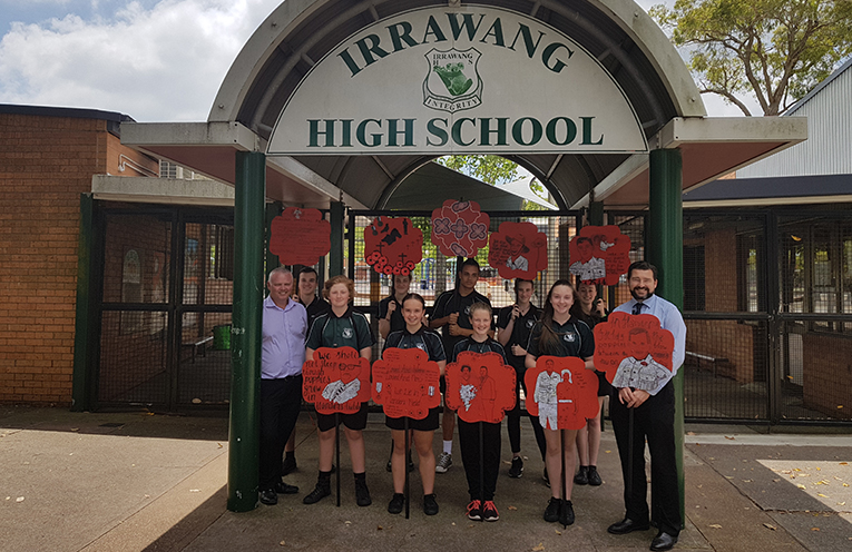 Irrawang High School.