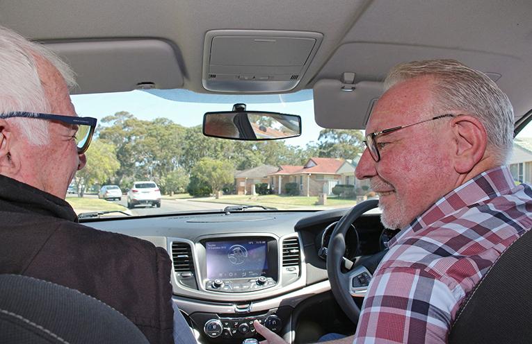 MIDCOAST VOLUNTEER: Driver, Alan Twemlow.