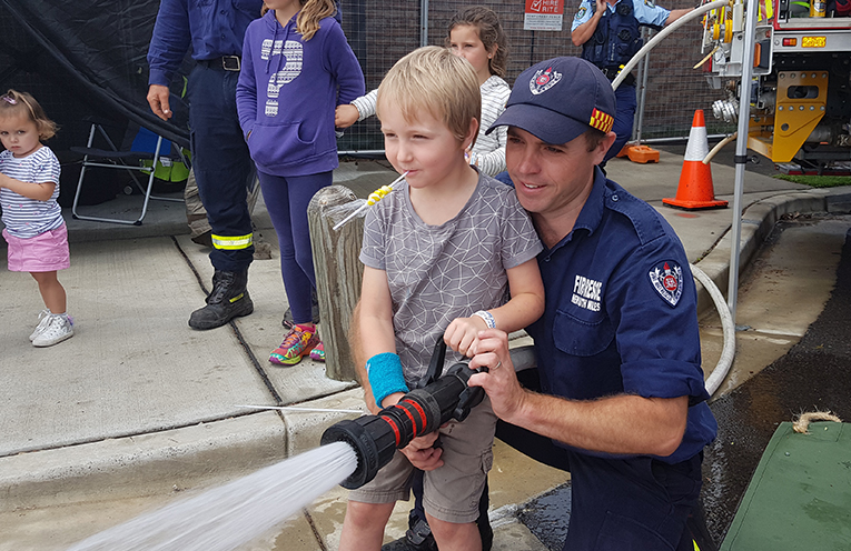 MYALL RIVER FESTIVAL: Tea Gardens Fire and Rescue.