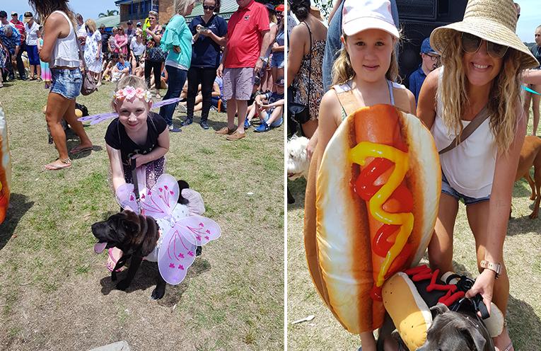 GREENPAWS DOG SHOW: Myall River Festival. (left) MYALL RIVER FESTIVAL: Greenpaws Dog Show. (right)