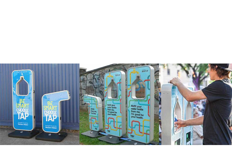 WATER STATIONS: Myall River Festival.