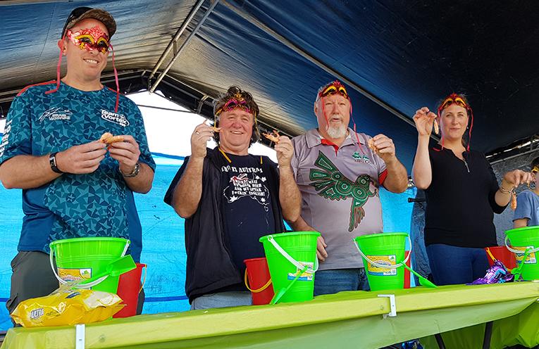 TEA GARDENS RIVERFRONT: Myall River Festival.