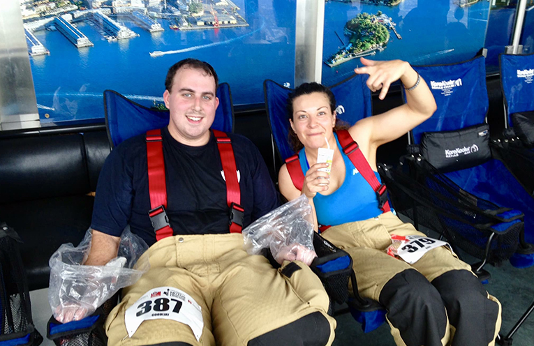 Port Stephens Firies complete climb for MND – News Of The Area