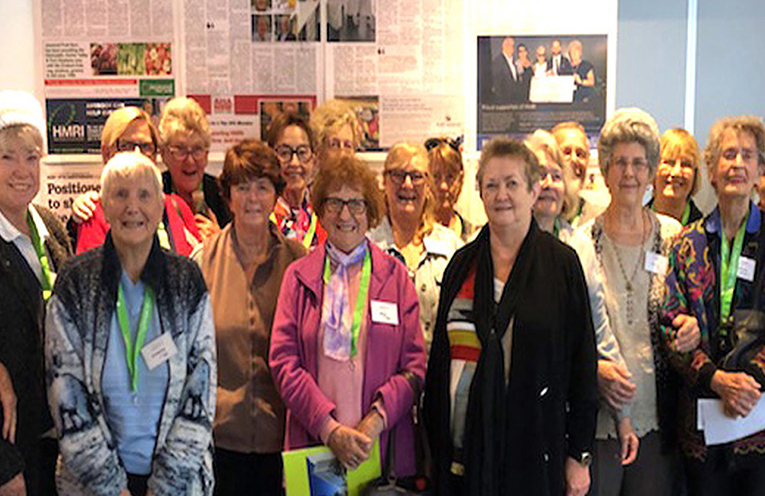 Members of Port Stephens Friendship Group at the HRMI Open Day.