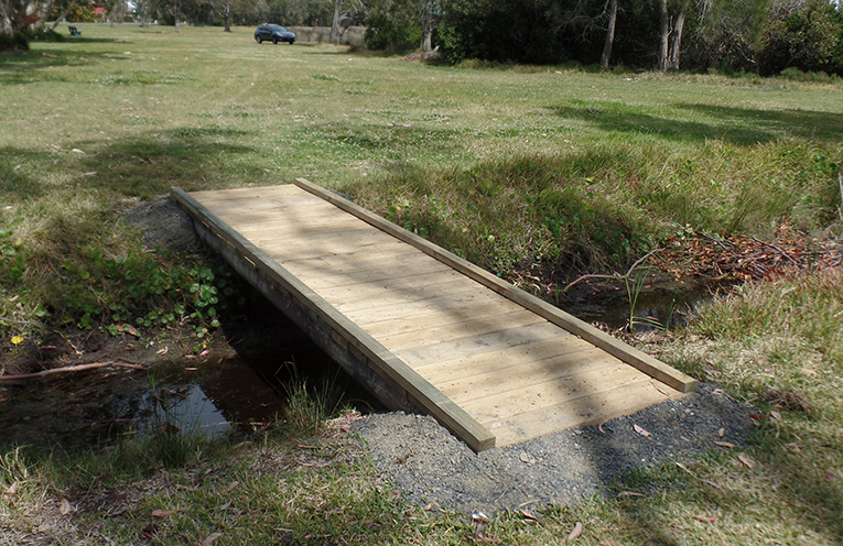 HAWKS NEST RESERVE: New Walkway Completed.