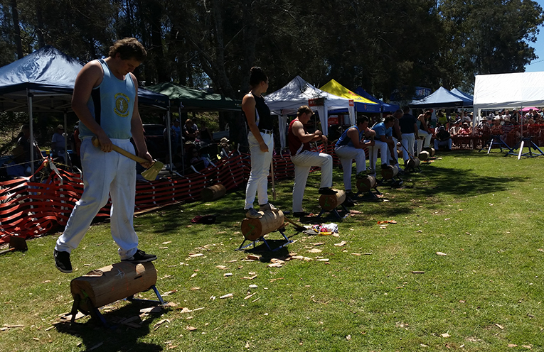 KARUAH: Oyster and Timber Festival.