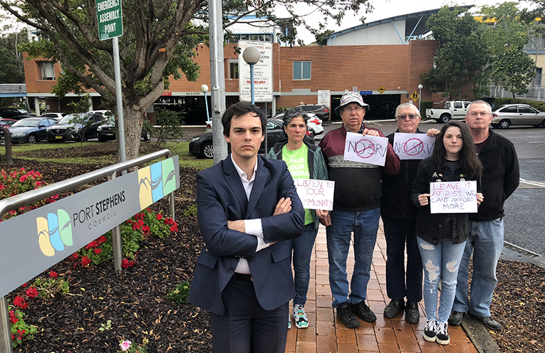 Councillor Giacomo Arnott has fought strongly against the Special Rate Variation, and is encouraging residents to join the public gallery at this week's council meeting.