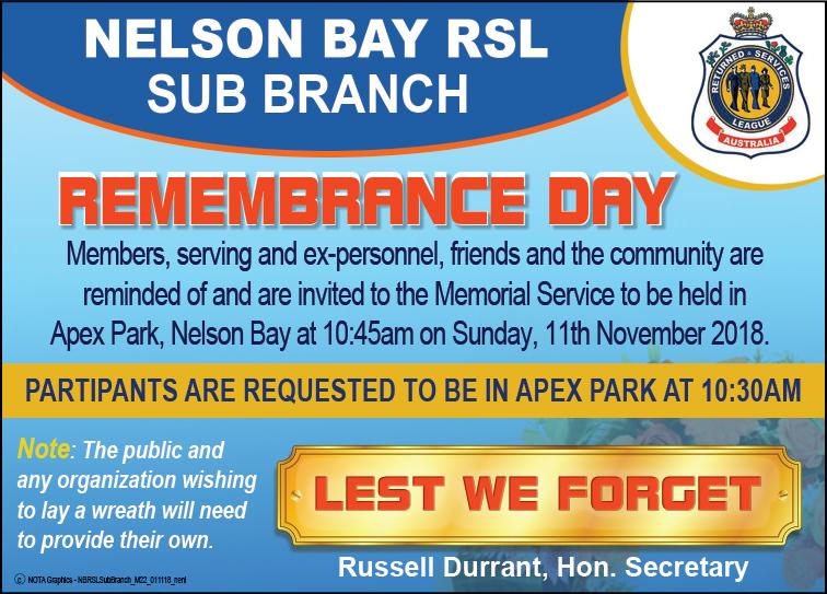 Nelson Bay RSL Sub Branch