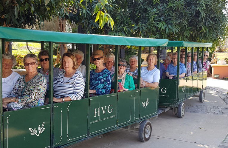 The Group at the Hunter Valley Gardens.