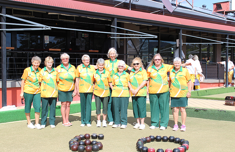 60TH BIRTHDAY CELEBRATIONS: Bulahdelah Women's Bowling Club.