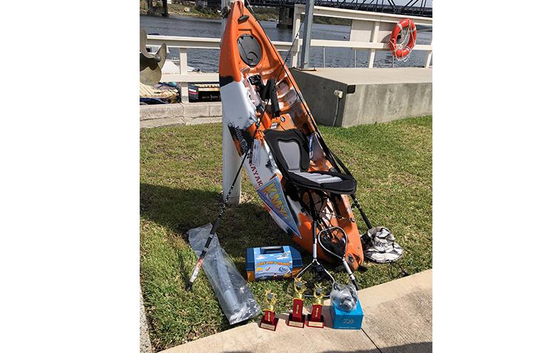 KARUAH KIDS FISHING COMP: Prizes on offer.