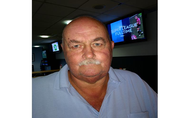 C Grade winner Bob Reid.