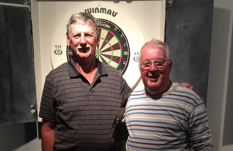 Graham Bramley and Mike Latty.