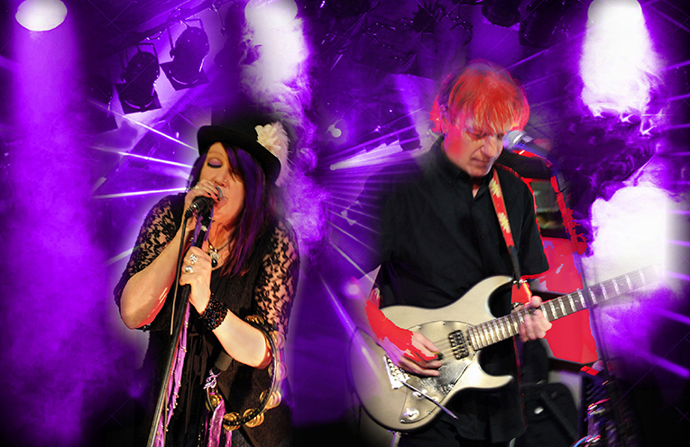 The Purple Hearts take to the stage at 7pm on Saturday.