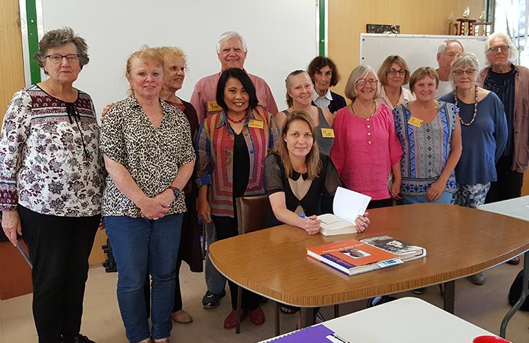 HAWKS NEST COMMUNITY HALL : U3A Writers Workshop with author Joanna Atherfold Finn.