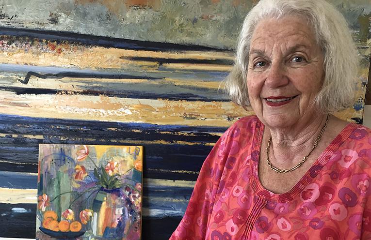 Nanette Basser -Artist and Curator.