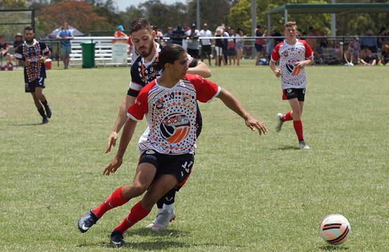 AUSTRALIAN INDIGENOUS FOOTBALL TEAM: Samuel Webb.