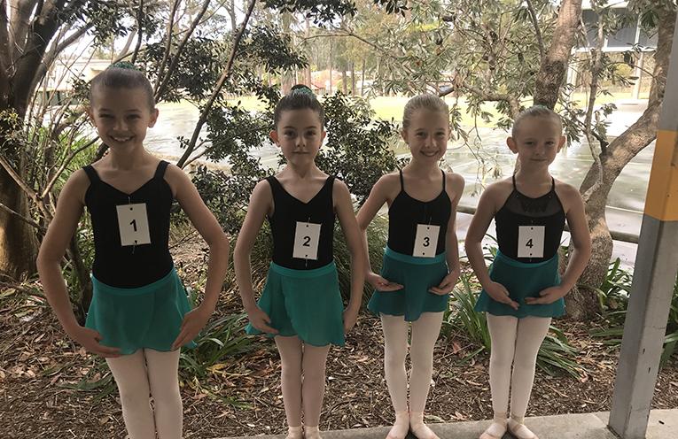 Olivia Adams, Zoe Lyon, Kiera Horder and Sienna Watson - bronze medal ballet.