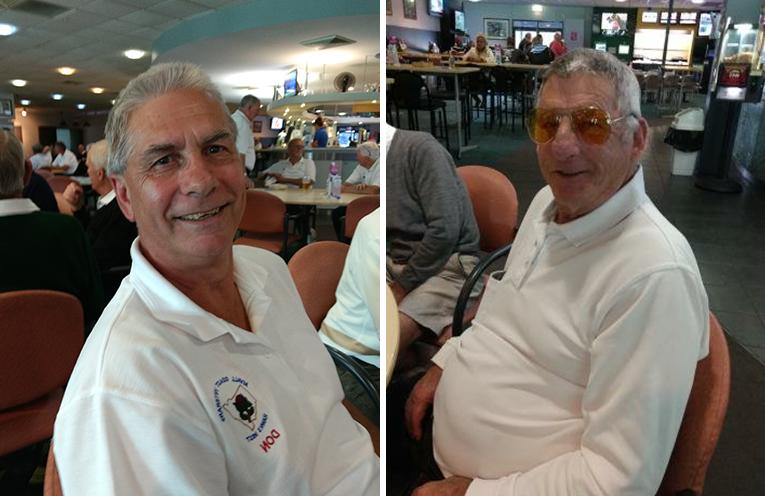 A Grade winner Don McGill.  (left) B Grade winner Rod Austin. (right)