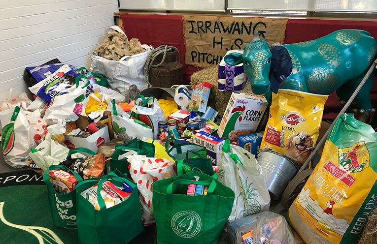 Food donations to support farmers