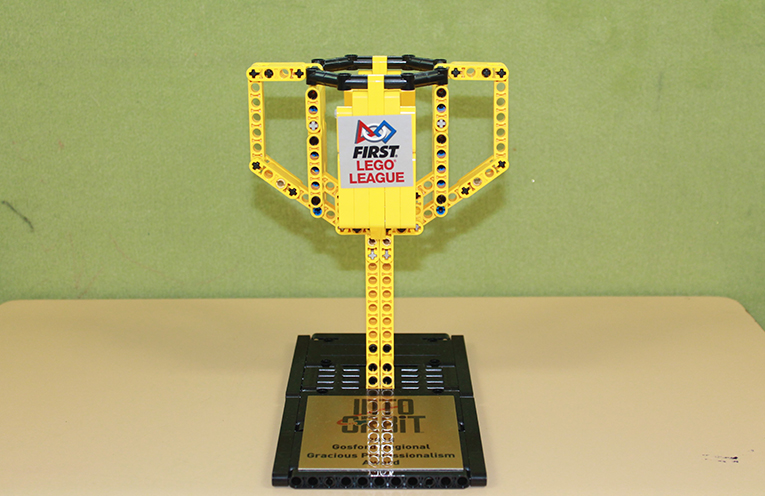 The lego trophy.