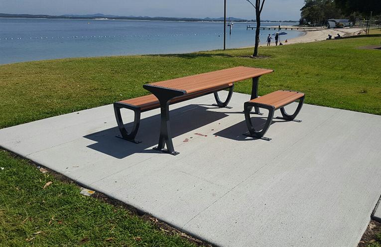 Little Beach Port Stephens receives upgrades.
