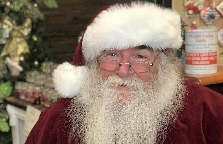 The jolly old man himself, Santa Claus.