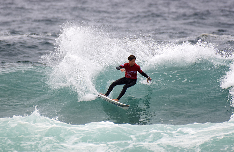 Mick Clayton Brown ready to take on Australia's best. Photo Ethan Smith Surfing NSW.