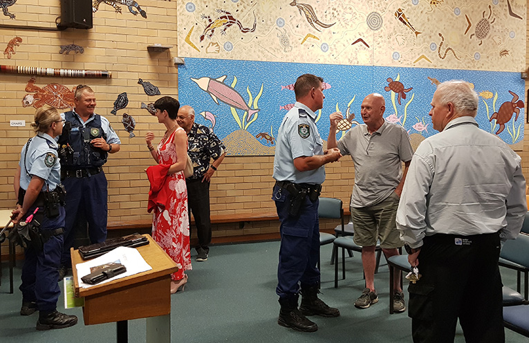 TEA GARDENS PRIMARY SCHOOL: Community Police Forum.