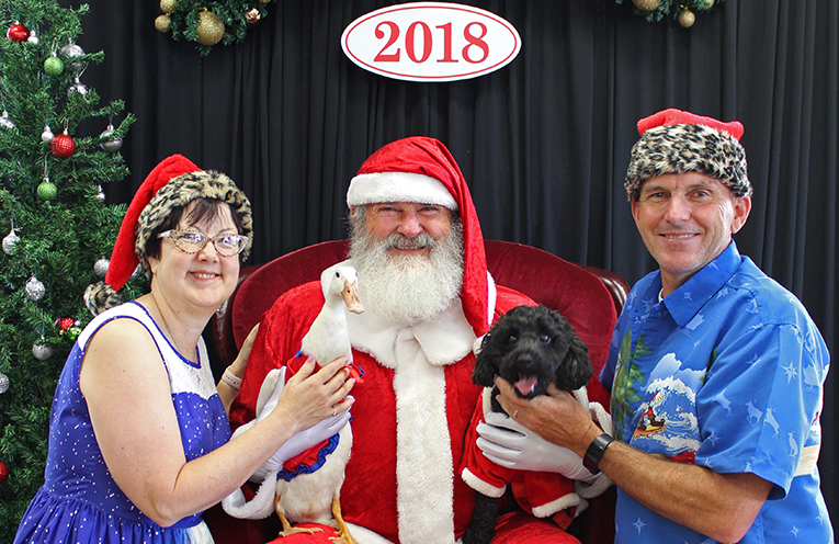 The Withey Family are avid supporters of the Santa Photo Fundraiser each year.