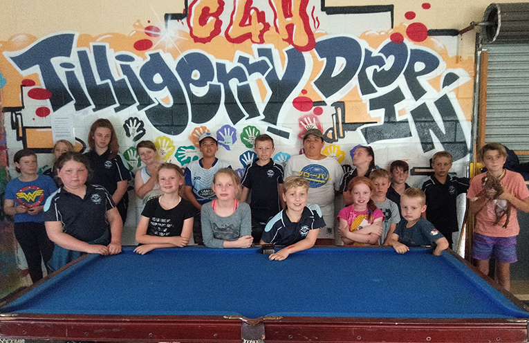 Local Tilligerry Peninsula children making the most of the programs run by the Centre for Hope. Photo supplied