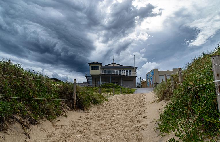 WILD WEDNESDAY: Tea Gardens Hawks Nest Surf Club, Photo courtesy Louise Richards.