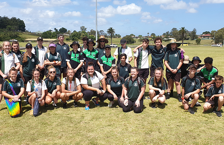 Year 9 students from Irrawang High hosted the Social Multisport Gala Day for Stage 3.