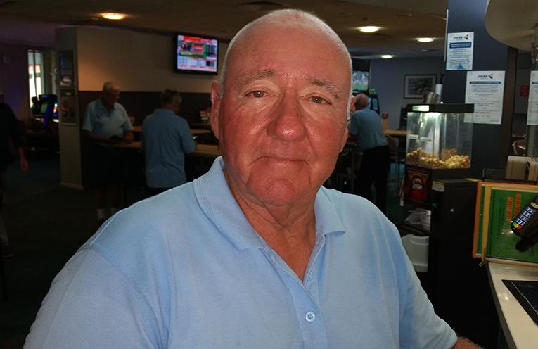 Front nine winner Alan Murdoch.