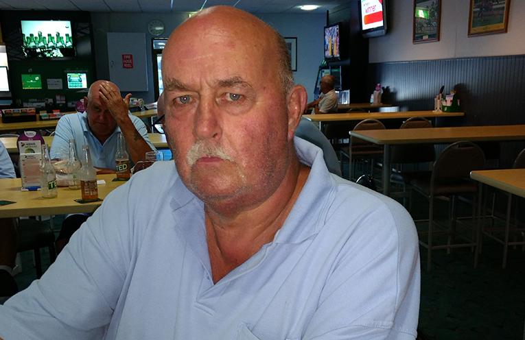 Back nine winner Bob Reid.