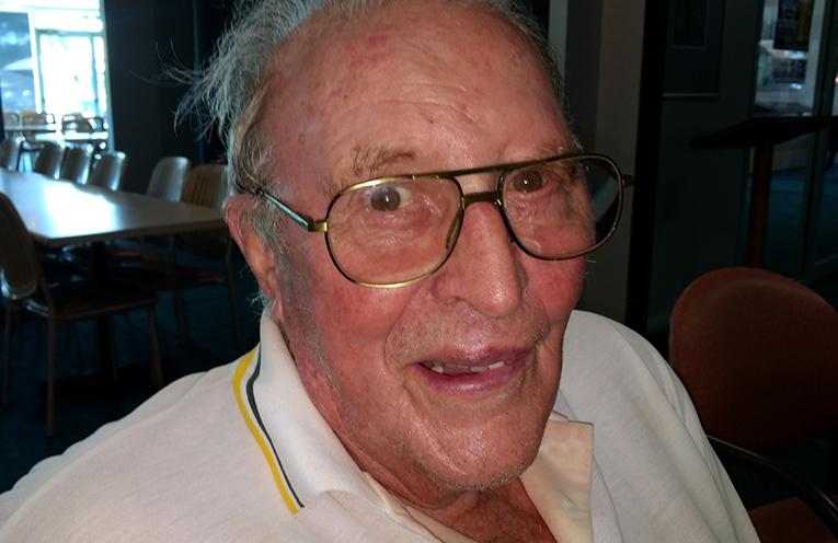 B Grade winner David Bruce.