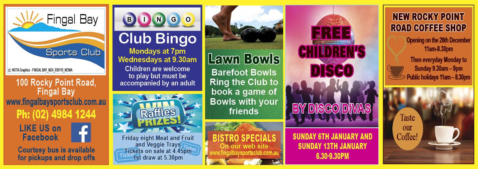 Fingal Bay Sports Club