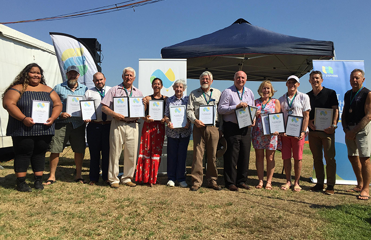 Nominees and recipients of the Port Stephens Annual Awards.