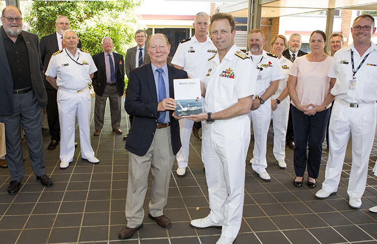 Bravo Zulu by Ian Pfennigwerth launched by Chief of Navy, Admiral Michael Noonan.