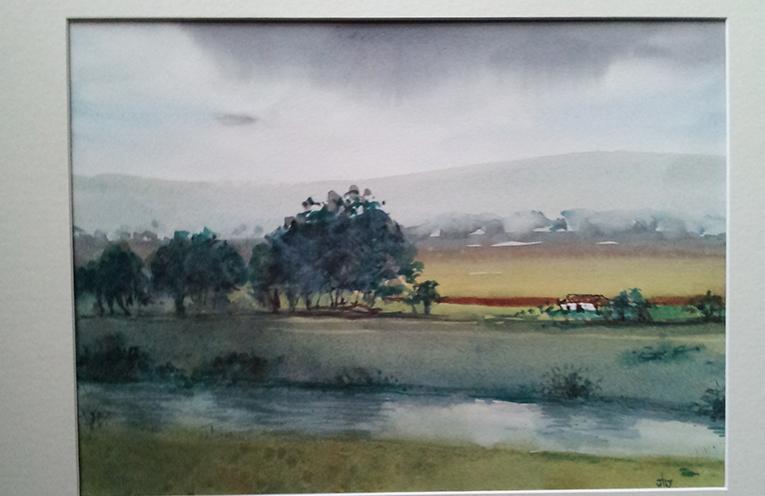 Hunter River near Morpeth