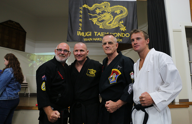 Tony Gillespie from Imugi honoured in traditional belt