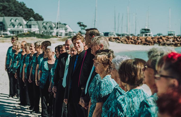 The Seaside Singers.