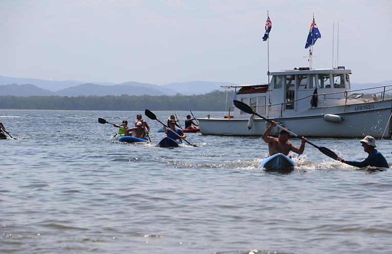 Kayak Racing.