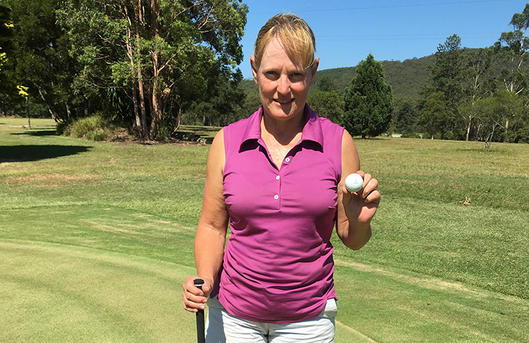 Trudy Graham, Hole in One.